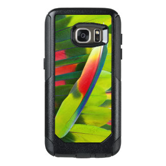 Amazon Parrot Feather Still Life OtterBox Samsung Galaxy S7 Case