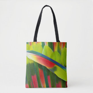 Amazon Parrot Feather Still Life Tote Bag