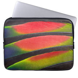 Amazon parrot feathers laptop computer sleeves