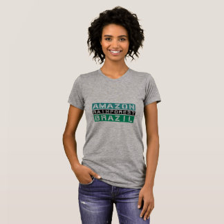 Amazon Rainforest Brasil T-Shirt