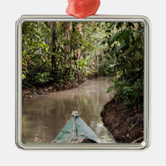 Amazon Rainforest, Puerto Maldanado, Peru. Metal Ornament