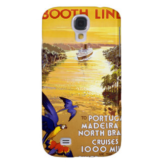 Amazon River Booth Line Galaxy S4 Covers