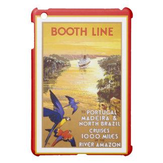 Amazon River Booth Line iPad Mini Cover