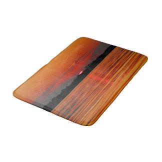 Amazon River Sunset Bathroom Mat