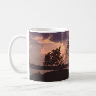 Amazon River sunset Coffee Mug