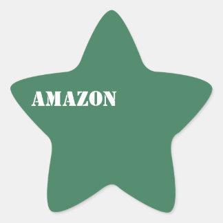 Amazon Star Sticker