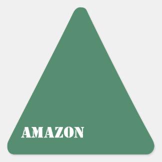 Amazon Triangle Stickers