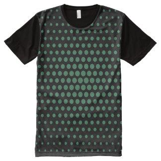 Amazon Techno Dots Modern Black All-Over Print T-Shirt