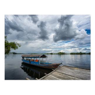 Amazon Tourist Boat Postcard