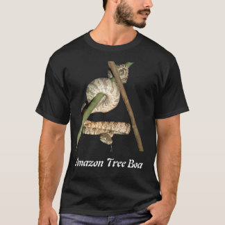 Amazon Tree Boa Basic Dark T-Shirt