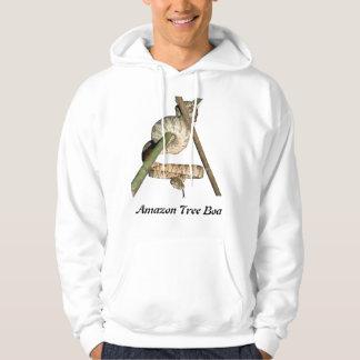 Amazon Tree Boa Basic Hooded Sweatshirt