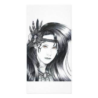 Amazon Warrior - Photo Card