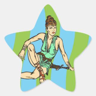 Amazon Women Fantasy Star Sticker