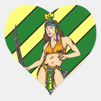 Amazon Women Warriors Sticker