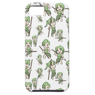 amazonian chibi girls tough iPhone 5 case