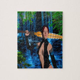 Amazonian Woman Jigsaw Puzzle