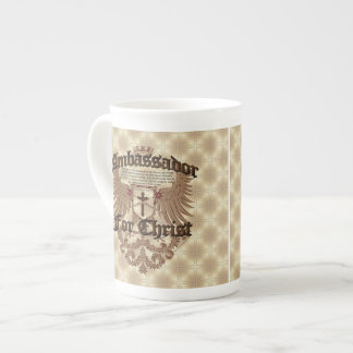 Ambassador For Christ, Corinthians Bible Verse Tea Cup