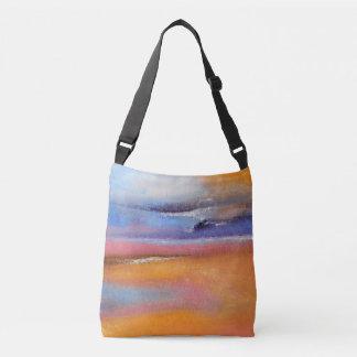 Amber Abstract Cross Body Bag