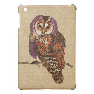 Amber & Amethyst Owl iPad Case