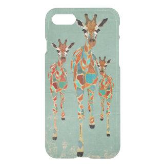 AMBER & AZURE GIRAFFES iPhone Case