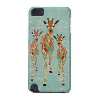 Amber & Azure Giraffes iPod Case iPod Touch 5G Case