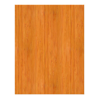 Amber Bamboo Wood Grain Look 21.5 Cm X 28 Cm Flyer