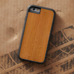 Amber Bamboo Wood Look Tough Xtreme iPhone 6 Case