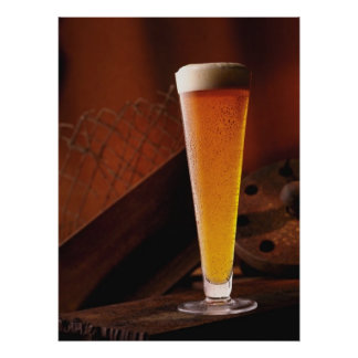 Amber Beer Poster Prints