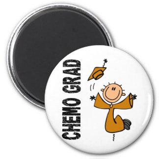 Amber CHEMO GRAD 1 (Appendix Cancer) Magnets