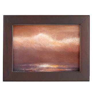 Amber Clouds Keepsake Box