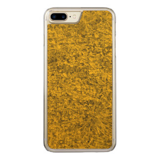 Amber colored Grass Carved iPhone 8 Plus/7 Plus Case