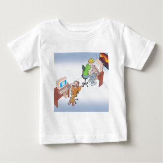 Amber & Drew anime art gallery characters Baby T-Shirt