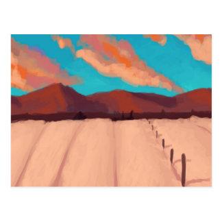Amber Fields of Grain Postcard