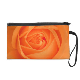 Amber Flush Rose - Wristlet
