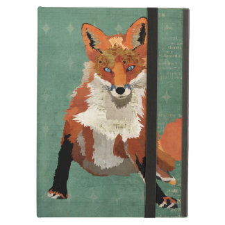 Amber Fox Retro Case Cover For iPad Air
