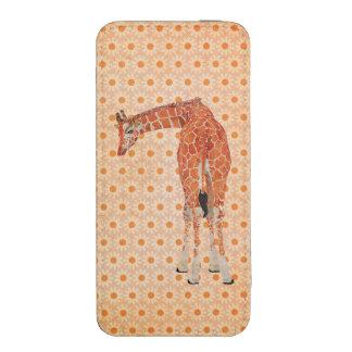 Amber Giraffe Floral Smartphone Case