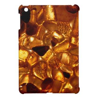 Amber grains with backlight illumination case for the iPad mini