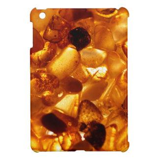 Amber grains with backlight illumination iPad mini cover