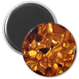 Amber grains with backlight illumination magnet