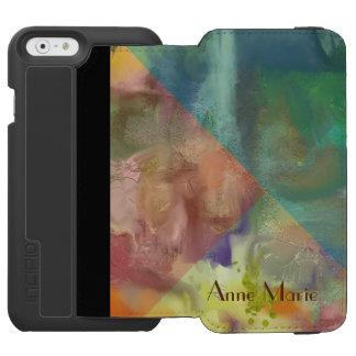 Amber Lens Abstract Incipio Watson™ iPhone 6 Wallet Case