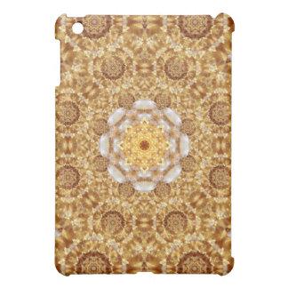 Amber Mandala iPad Mini Cover