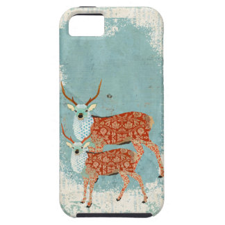 Amber Ornate Deer iPhone Case iPhone 5 Cases