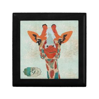Amber Peeking Giraffe Gift Box