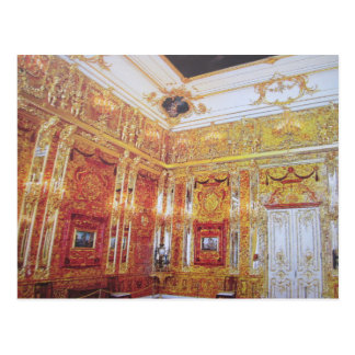Amber room postcard
