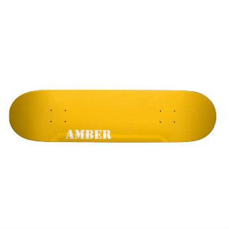 Amber Skate Deck