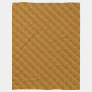 Amber Sparkle Quilted Look Fleece Blanket