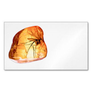 Amber stone customize magnetic business cards