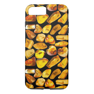 Amber stone inclusions iPhone 8 plus/7 plus case