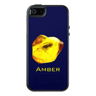 Amber stone OtterBox iPhone 5/5s/SE case