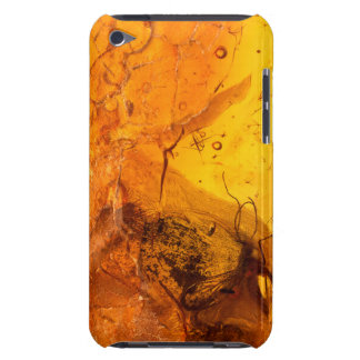Amber stone texture background barely there iPod cover